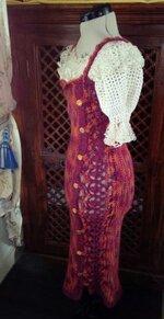 Robe en Laine & Lin : Style Espagnol