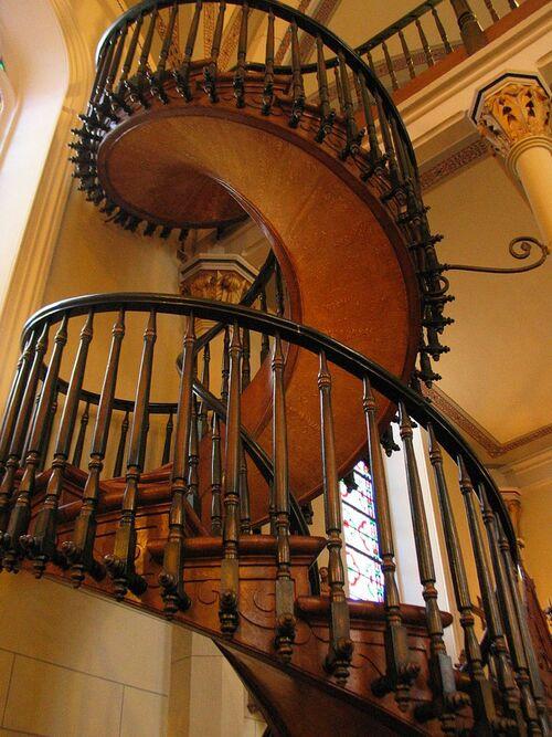 l'escalier de Saint Joseph...