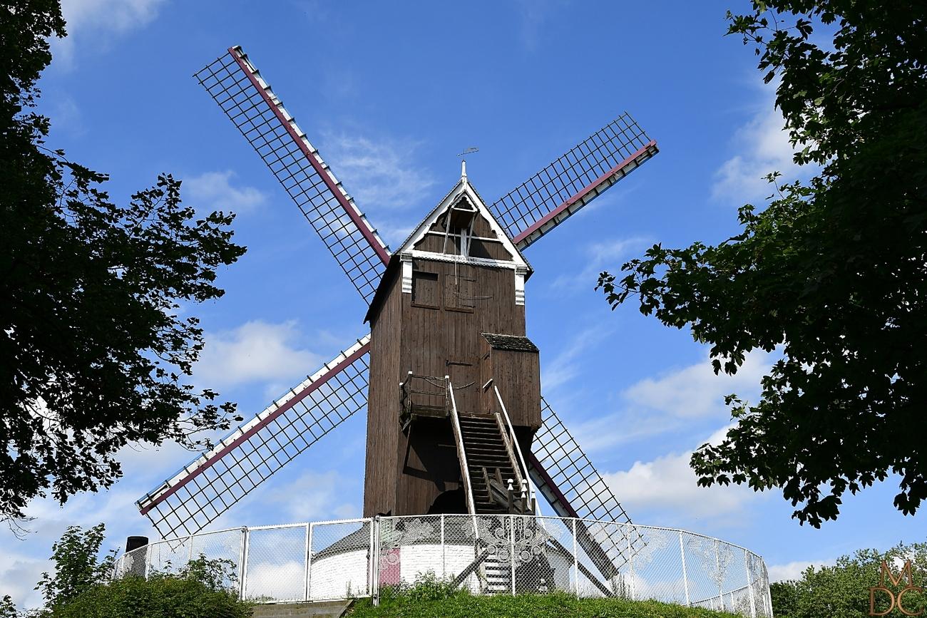 """Bruges : Moulin """""""" Bosterhoutmolen"""""""""""