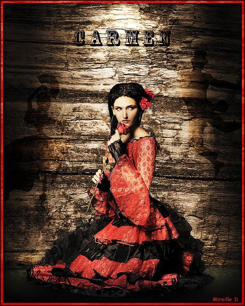 Carmen Design en Musique (Photomontage)