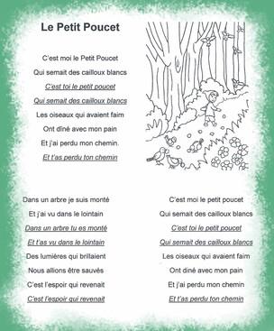 Chant du Petit Poucet