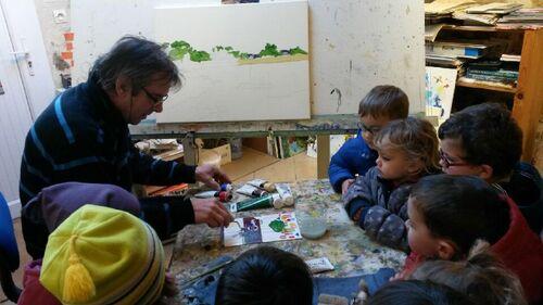 Rencontre avec un artiste peintre loublandais