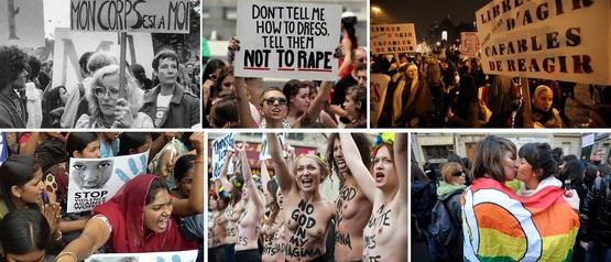 Journée internationale des droits de la femme. Encore. Eh oui