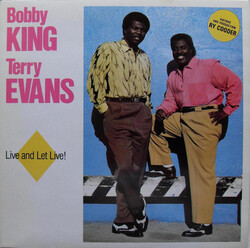 Bobby King & Terry Evans - Live And Let Live - Complete LP