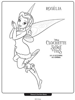 Coloriage Disney Fairies page 3