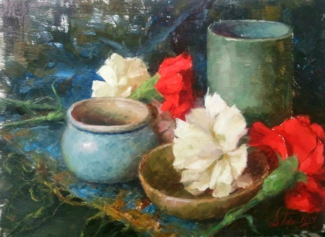 Kyle Stuckey, 1987 | Impressionist Realist painter