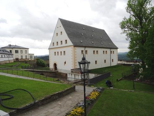 Königstein et sa forteresse en Allamagne (photos)