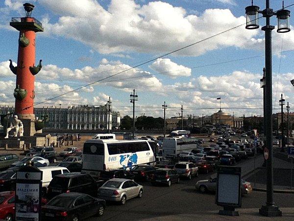 st Pétersbourg circulation ville
