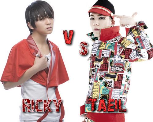 Ricky (Teen Top) vs Taeil (Block B) - Round 36
