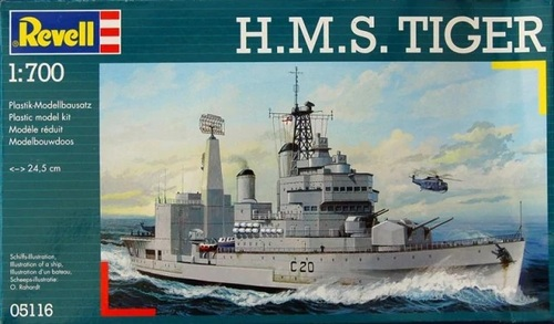Le HMS Tiger Matchbox