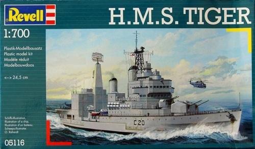 Le HMS Tiger Matchbox