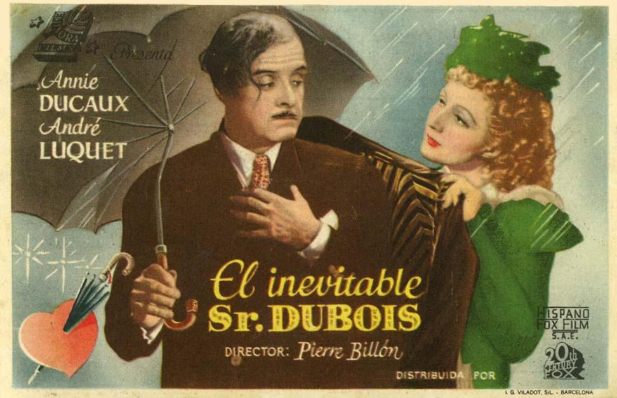 L'inévitable M. Dubois (1943) - IMDb