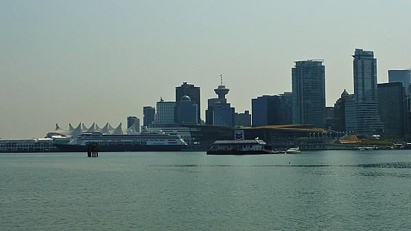 Jour 28 Stanley Park vue sur Vancouver Downtown 2