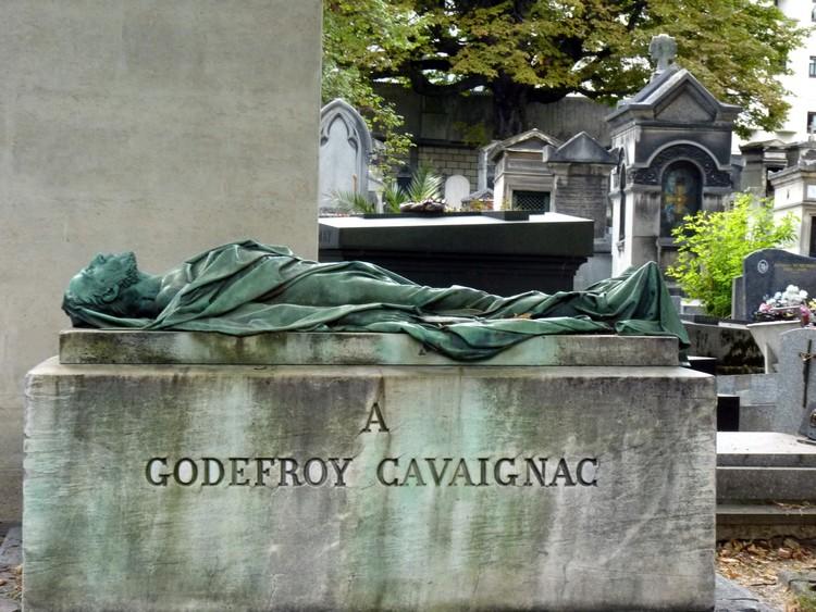 Tombre de Cavaignac