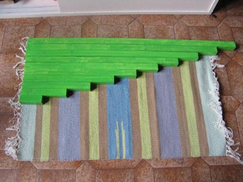 Les barres...vertes