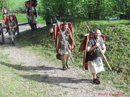 Images  de la marche Bibracte-Alésia