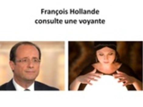 Hollande chez une voyante