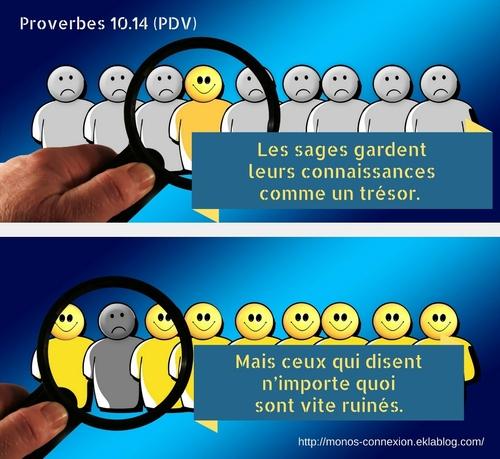 Calendrier Biblique - Proverbes 17-23