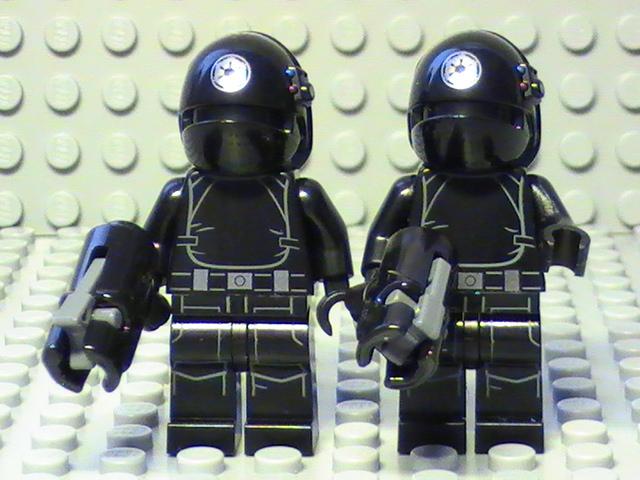 Légo Star Wars n° 75034 de 2014 - Les soldats de l'étoile de la mort.