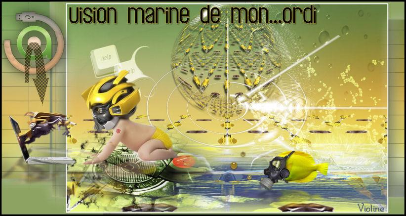 Vision marine ... de mon ordi