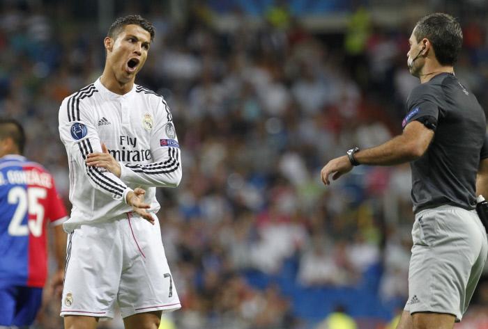 """Cristiano Ronaldo  """"allume"""" ses coéquipiers"""