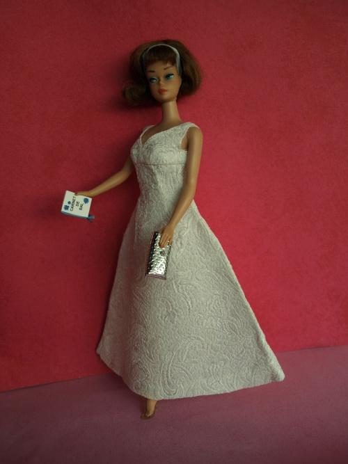 Barbie vintage American Girl Sidepart - Gala Abend