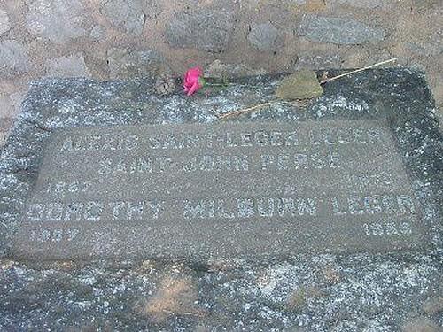 20 septembre 1975  : décès de Saint-John Perse