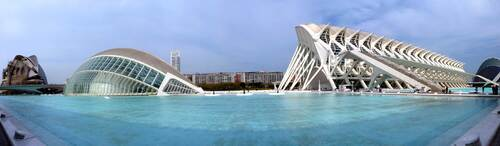 Valencia en Camping car mars 2015 Projet