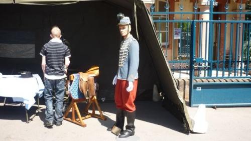 Portes ouvertes dimanche au 4e groupe d'escadrons de hussards le 8 mai