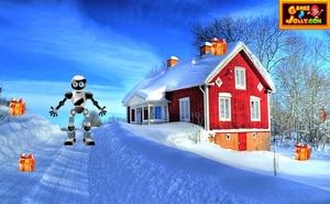 Jouer à Snowy noel Santa