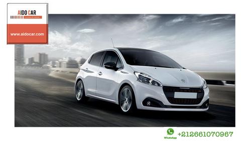 Location voiture citadine à Casablanca – Peugeot 208
