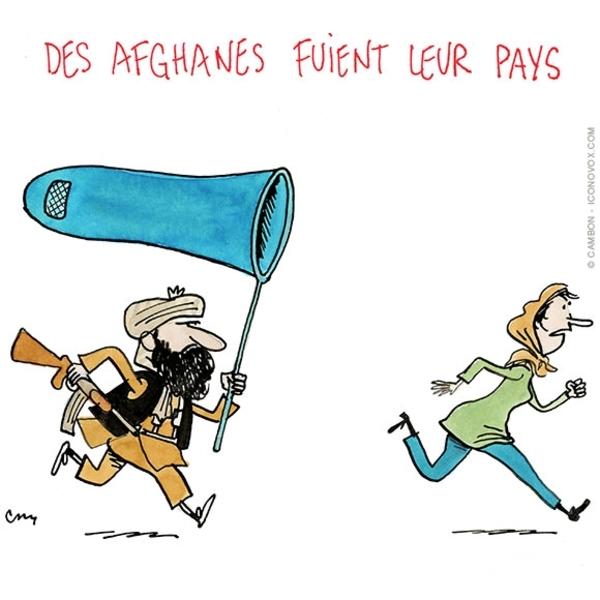 Peut-on rire des talibans ?? En tout cas les caricaturistes ne s'en privent pas, et c'est bien leur droit....