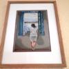 Gisèle tableau Dali encadré