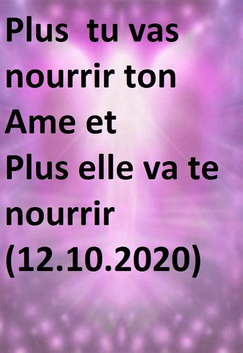 message de l'Unité 12.10.2020