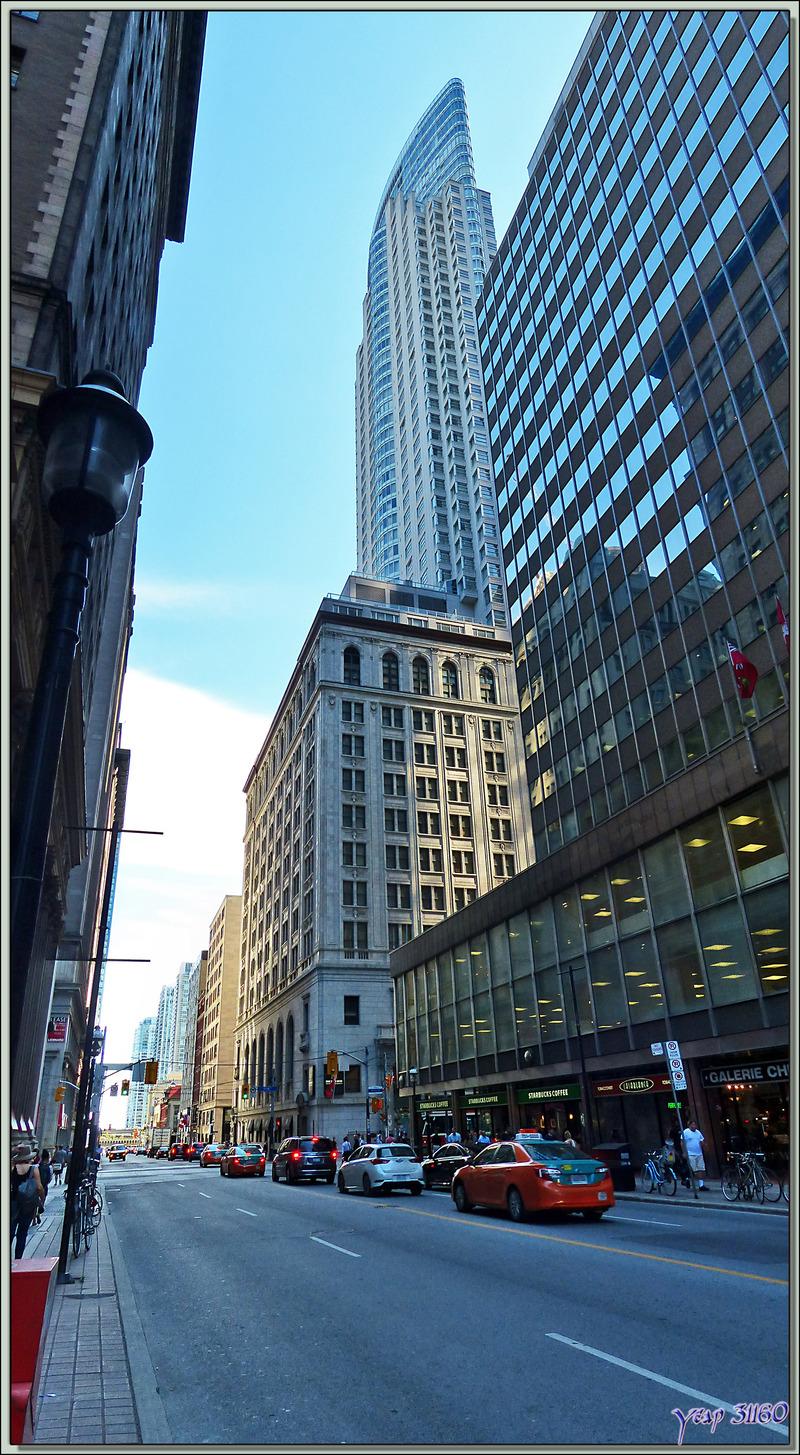 9 septembre 2016 : Toronto, la petite New York, une ville verticale - Ontario - Canada