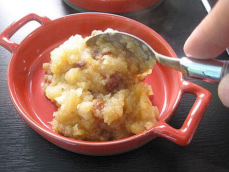 Recette de cuisine : Crumble aux pommes