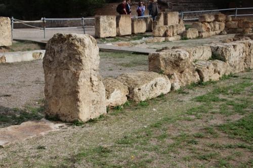Épidaure, le théâtre