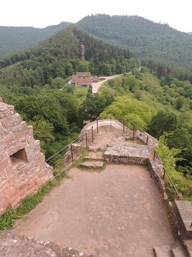 Escapade à Lembach (67) : rando-circuit des 4 châteaux, Fleckenstein-Loewenstein-Hohenbourg-Wegelnburg