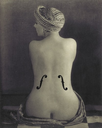 violondingres Man Ray