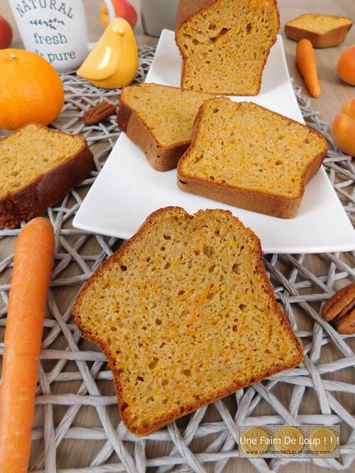 Carrot cake léger ( sans matière grasse )