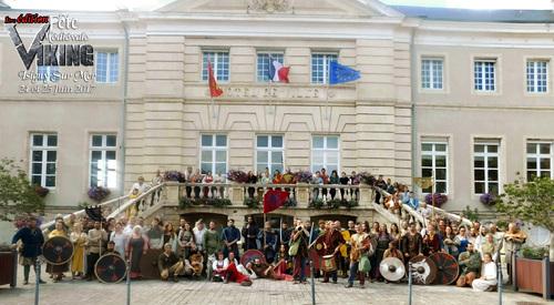 Garewal fête viking normandie isigny sur mer
