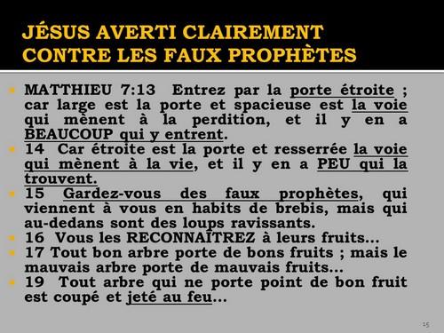 PDF Faux prophètes