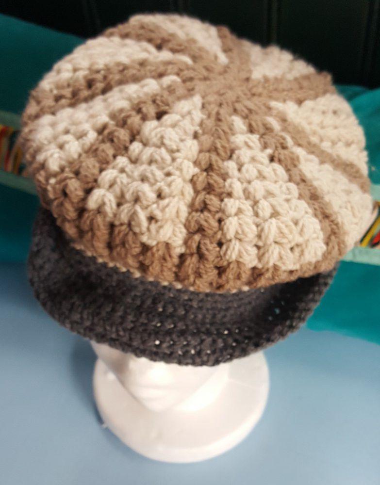 Nouvelles casquettes au crochet...