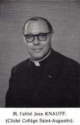L'abbé Jean Knauff, doyen
