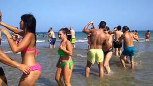 dance ballet salsa dancers salsa beach