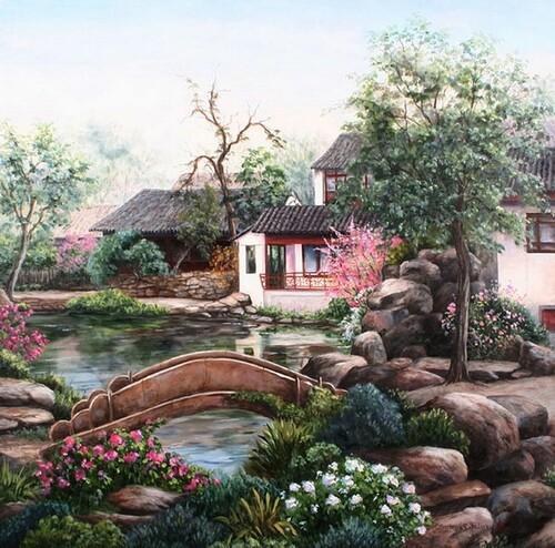 Peinture de : Barbara Rosbe Felisky