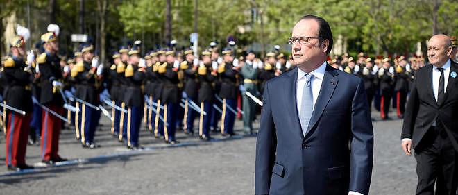 François Hollande a présidé les cérémonies du 8 Mai.