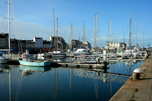 cherbourg III port du commerce