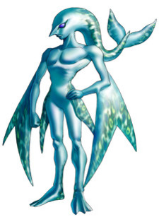 A Zora of the River Tribe - <i>Ocarina of Time 3D</i>