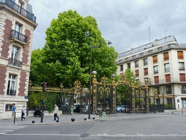 14 - Entrée du parc Monceau